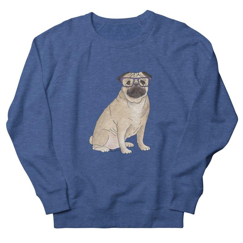 Milo the Pug Men's Sweatshirt by Tara Joy Andrews