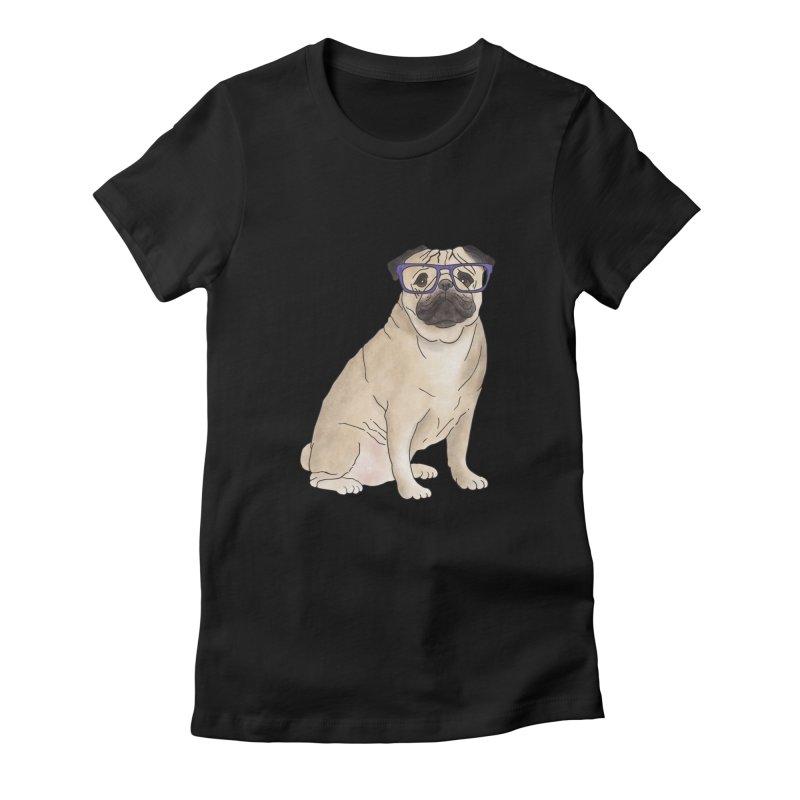 Milo the Pug Women's T-Shirt by Tara Joy Andrews