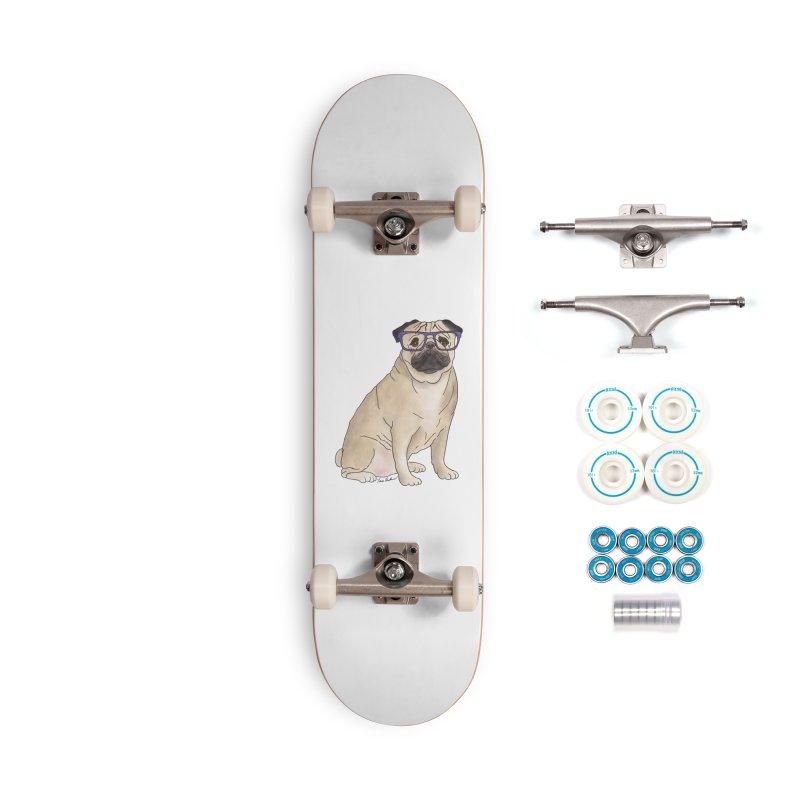 Milo the Pug Accessories Complete - Basic Skateboard by Tara Joy Andrews
