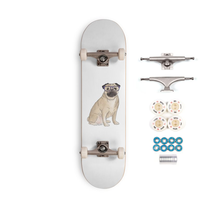 Milo the Pug Accessories Complete - Premium Skateboard by Tara Joy Andrews