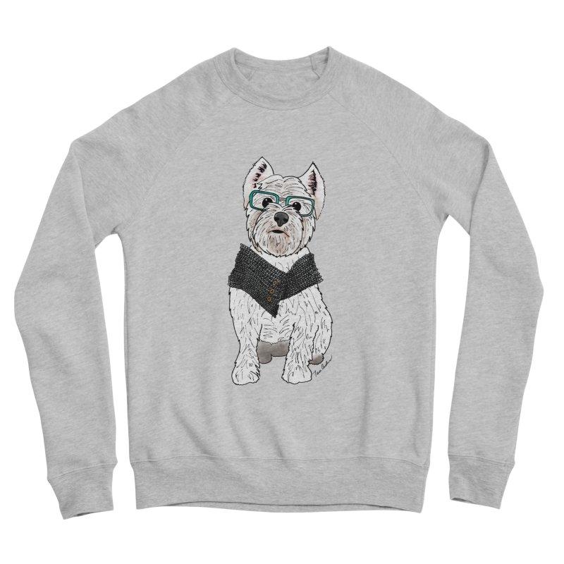 White West Highland Terrier Men's Sweatshirt by Tara Joy Andrews
