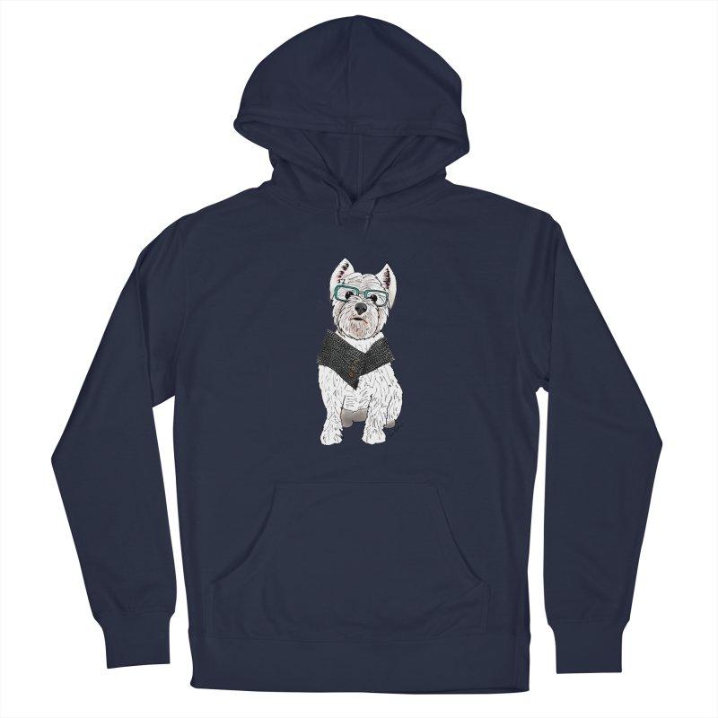 White West Highland Terrier Men's Pullover Hoody by Tara Joy Andrews