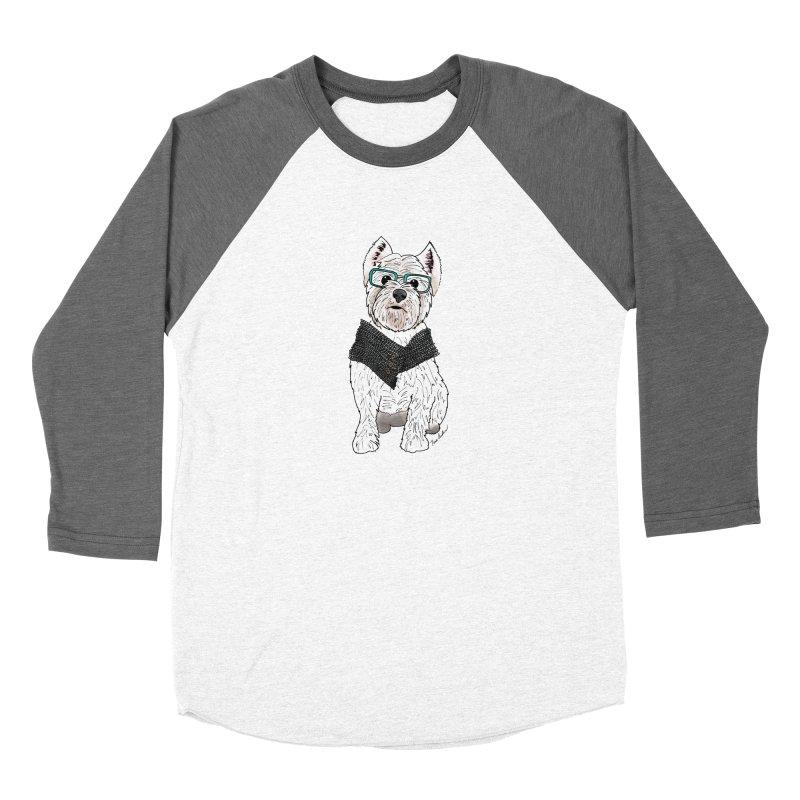 White West Highland Terrier Women's Longsleeve T-Shirt by Tara Joy Andrews