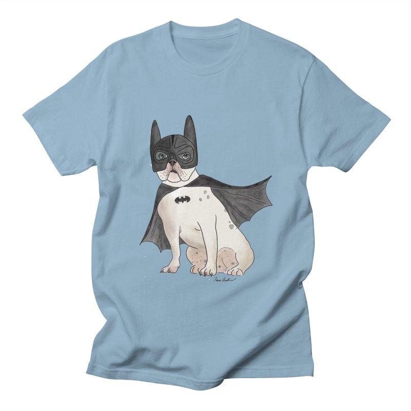 Na na na na na na Batman! Men's T-Shirt by Tara Joy Andrews