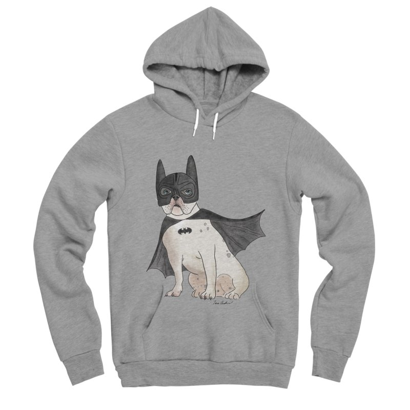 Na na na na na na Batman! Women's Sponge Fleece Pullover Hoody by Tara Joy Andrews
