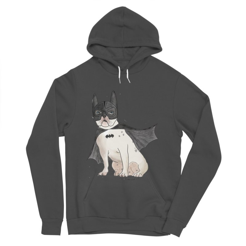 Na na na na na na Batman! Men's Sponge Fleece Pullover Hoody by Tara Joy Andrews