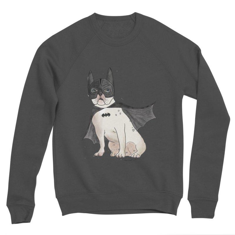 Na na na na na na Batman! Men's Sponge Fleece Sweatshirt by Tara Joy Andrews