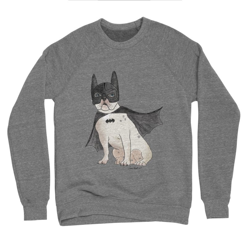 Na na na na na na Batman! Men's Sponge Fleece Sweatshirt by Tara Joy Andrews