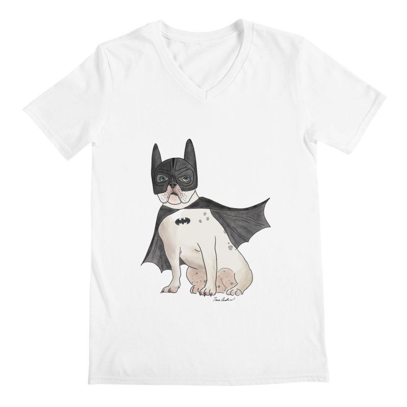Na na na na na na Batman! Men's V-Neck by Tara Joy Andrews