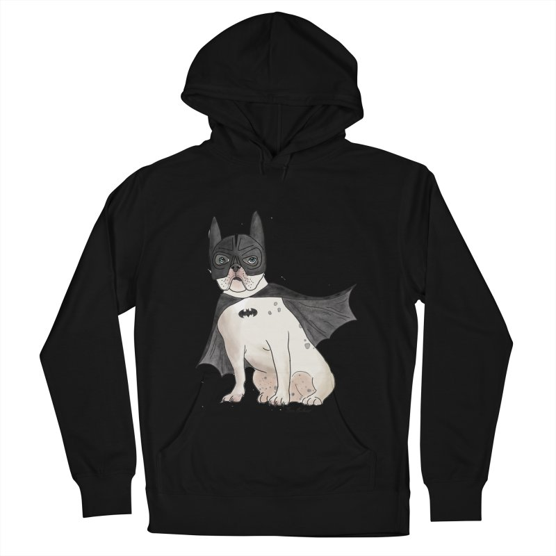Na na na na na na Batman! Men's French Terry Pullover Hoody by Tara Joy Andrews