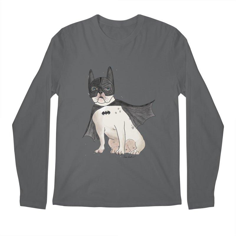 Na na na na na na Batman! Men's Regular Longsleeve T-Shirt by Tara Joy Andrews