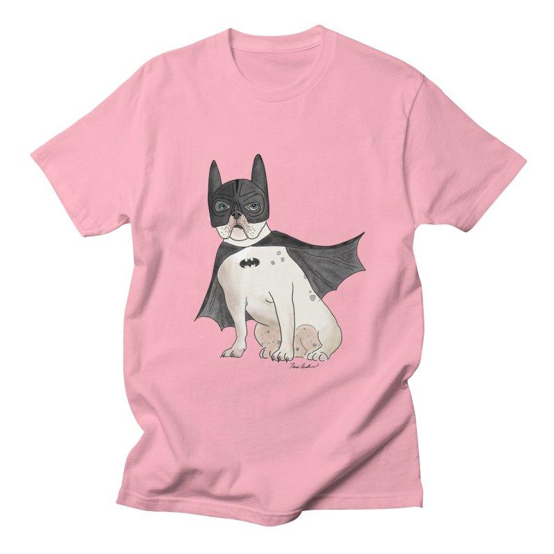 Na na na na na na Batman! Men's Regular T-Shirt by Tara Joy Andrews