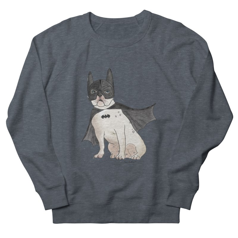Na na na na na na Batman! Women's French Terry Sweatshirt by Tara Joy Andrews