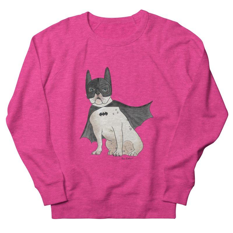 Na na na na na na Batman! Women's French Terry Sweatshirt by Tara Joy Andrews