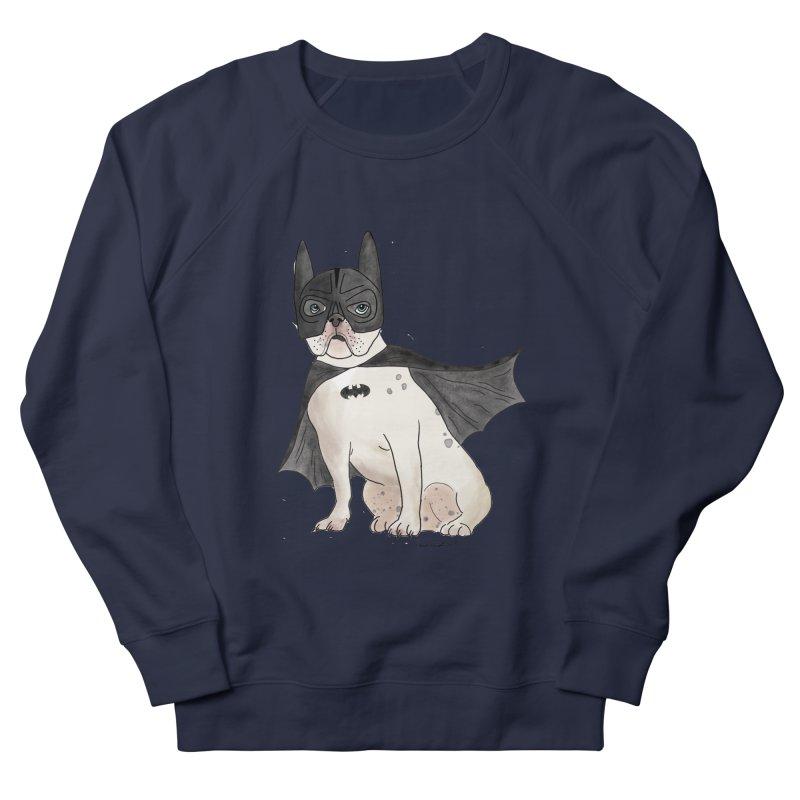 Na na na na na na Batman! Men's French Terry Sweatshirt by Tara Joy Andrews