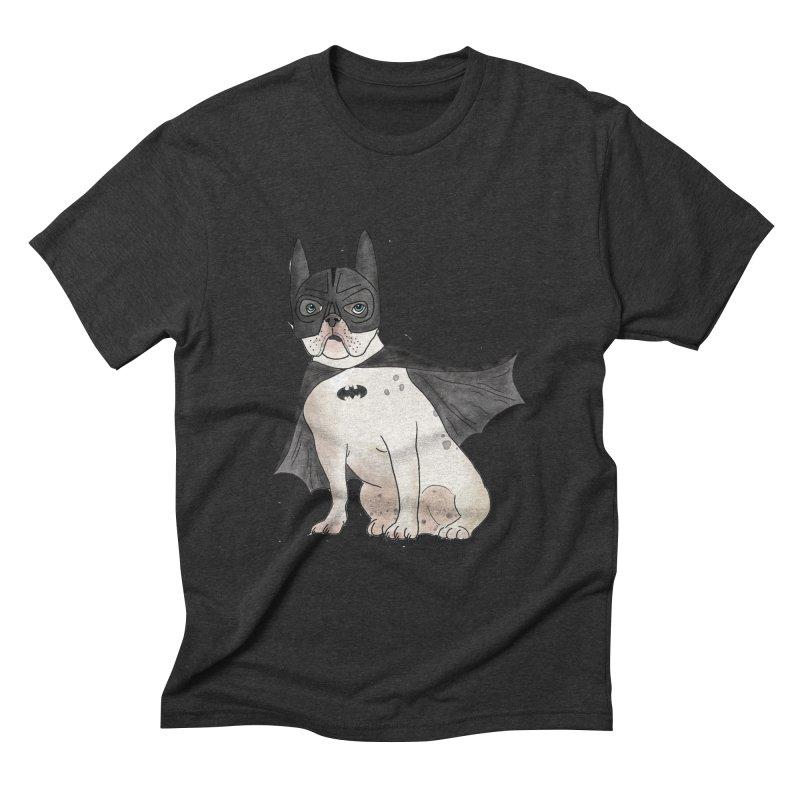 Na na na na na na Batman! Men's Triblend T-Shirt by Tara Joy Andrews