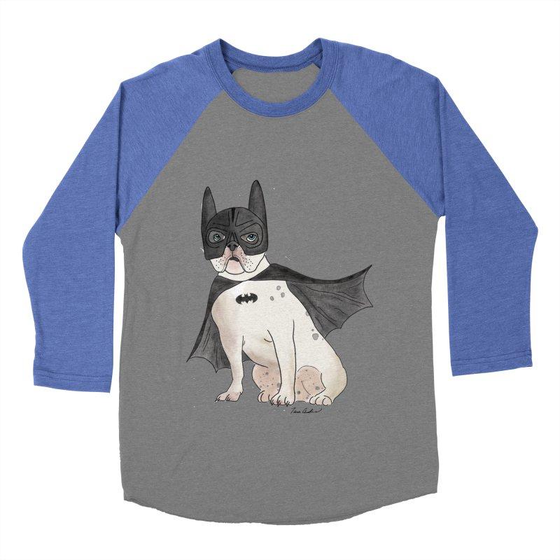 Na na na na na na Batman! Women's Baseball Triblend Longsleeve T-Shirt by Tara Joy Andrews