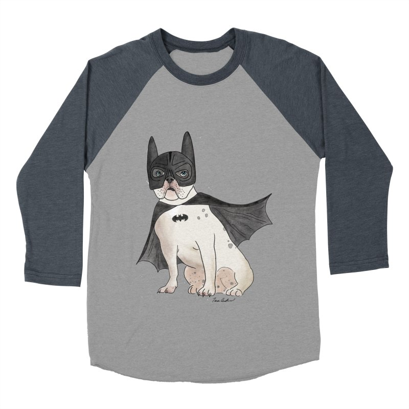 Na na na na na na Batman! Women's Baseball Triblend Longsleeve T-Shirt by Tara Joy Andrews