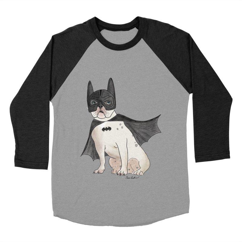 Na na na na na na Batman! Men's Baseball Triblend Longsleeve T-Shirt by Tara Joy Andrews