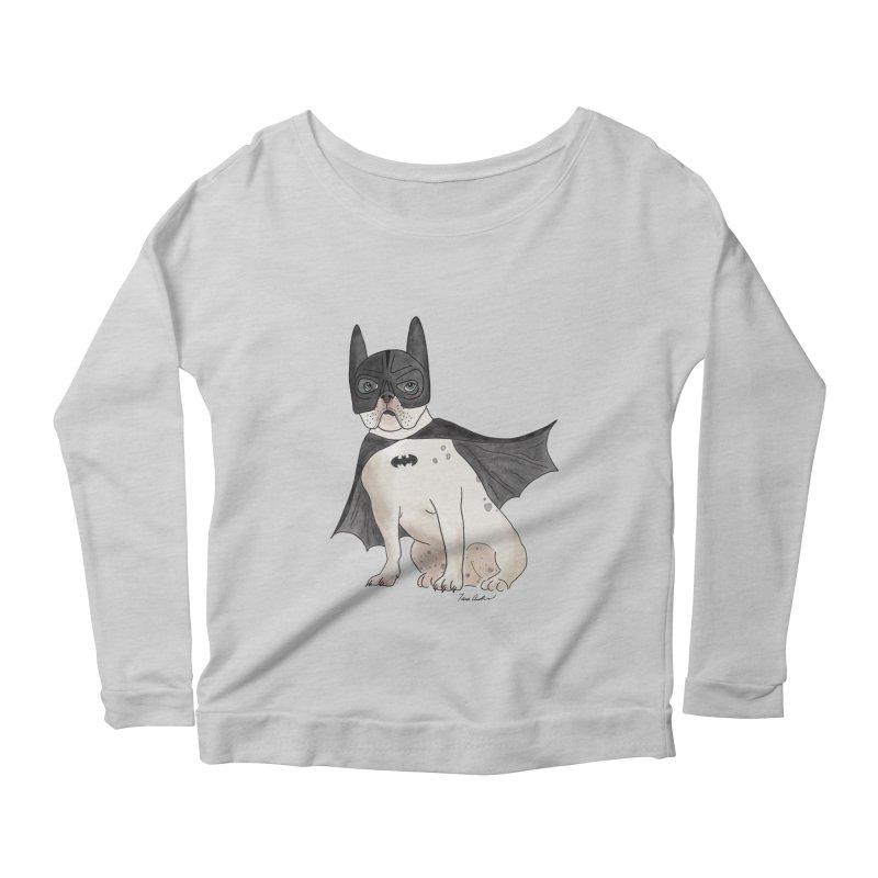 Na na na na na na Batman! Women's Scoop Neck Longsleeve T-Shirt by Tara Joy Andrews
