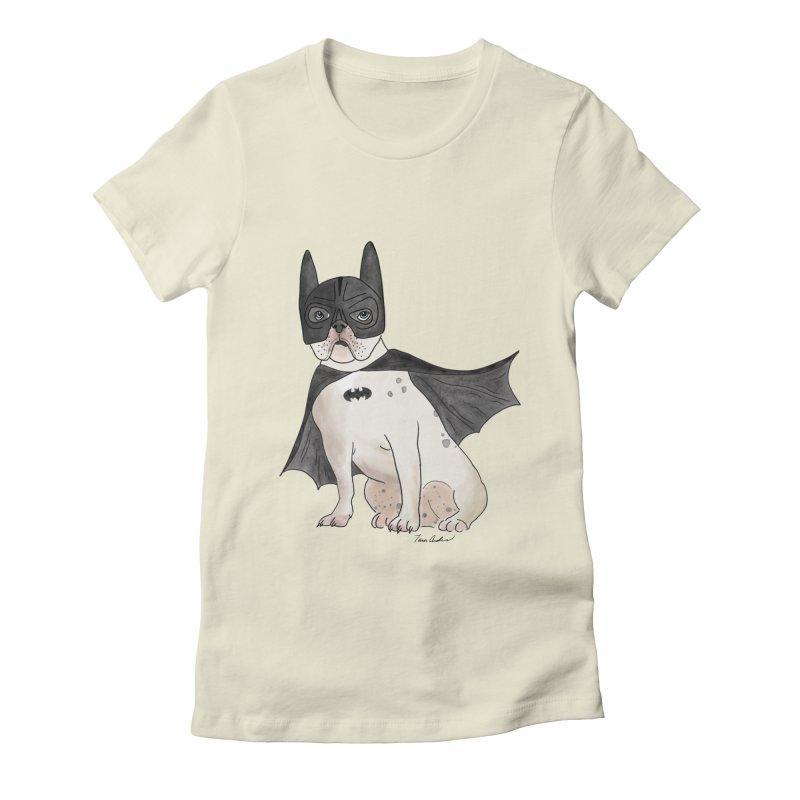 Na na na na na na Batman! Women's Fitted T-Shirt by Tara Joy Andrews