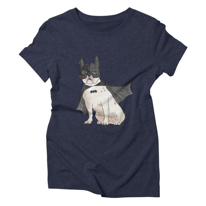 Na na na na na na Batman! Women's Triblend T-Shirt by Tara Joy Andrews