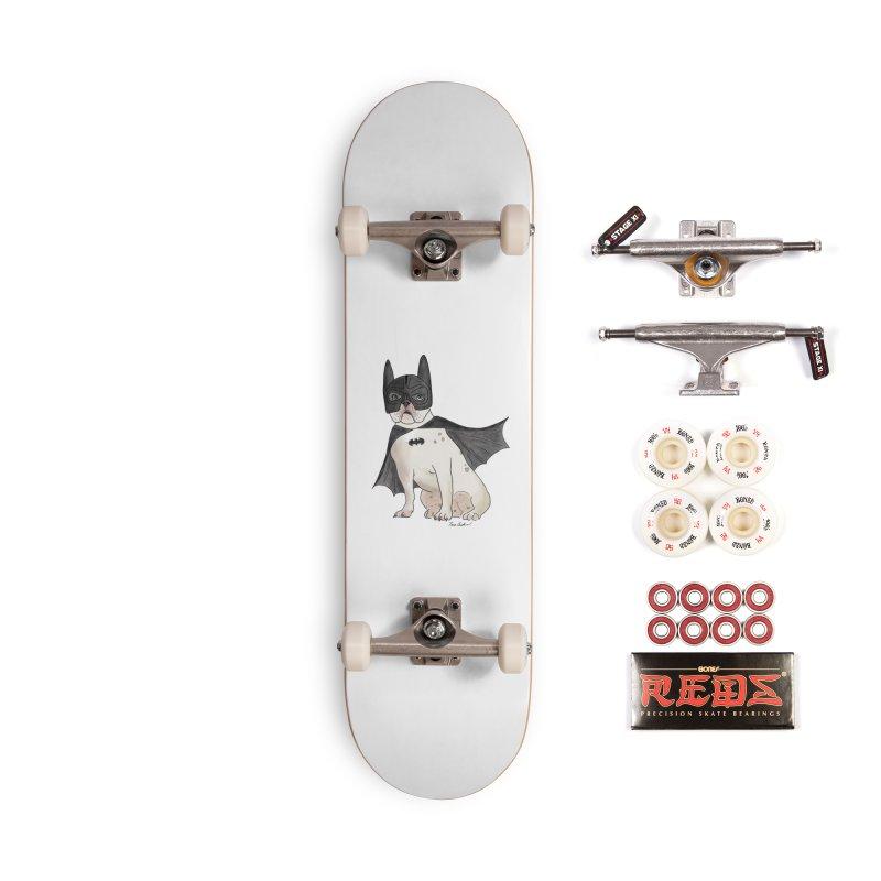 Na na na na na na Batman! Accessories Complete - Pro Skateboard by Tara Joy Andrews