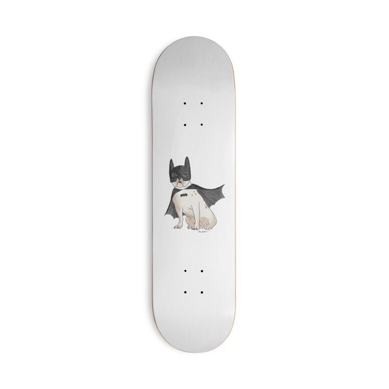 Na na na na na na Batman! Accessories Deck Only Skateboard by Tara Joy Andrews
