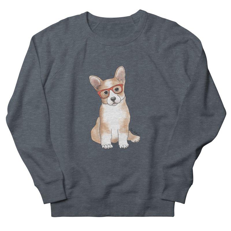 Cuddly Corgi Women's French Terry Sweatshirt by Tara Joy Andrews