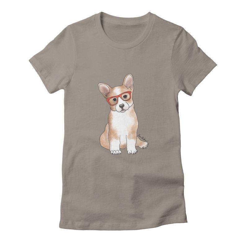 Cuddly Corgi Women's T-Shirt by Tara Joy Andrews