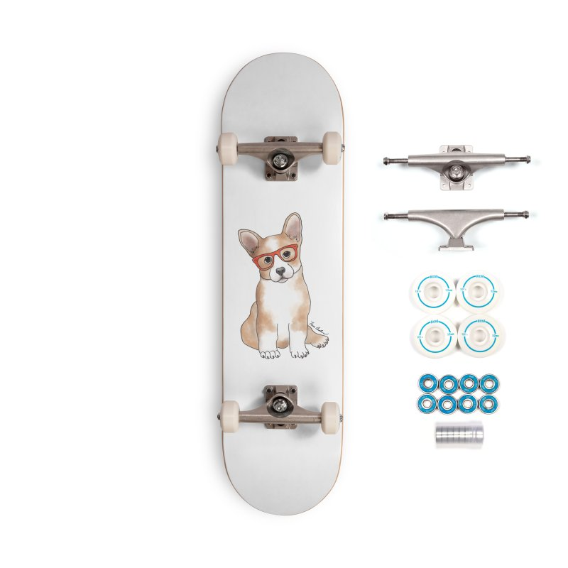 Cuddly Corgi Accessories Complete - Basic Skateboard by Tara Joy Andrews