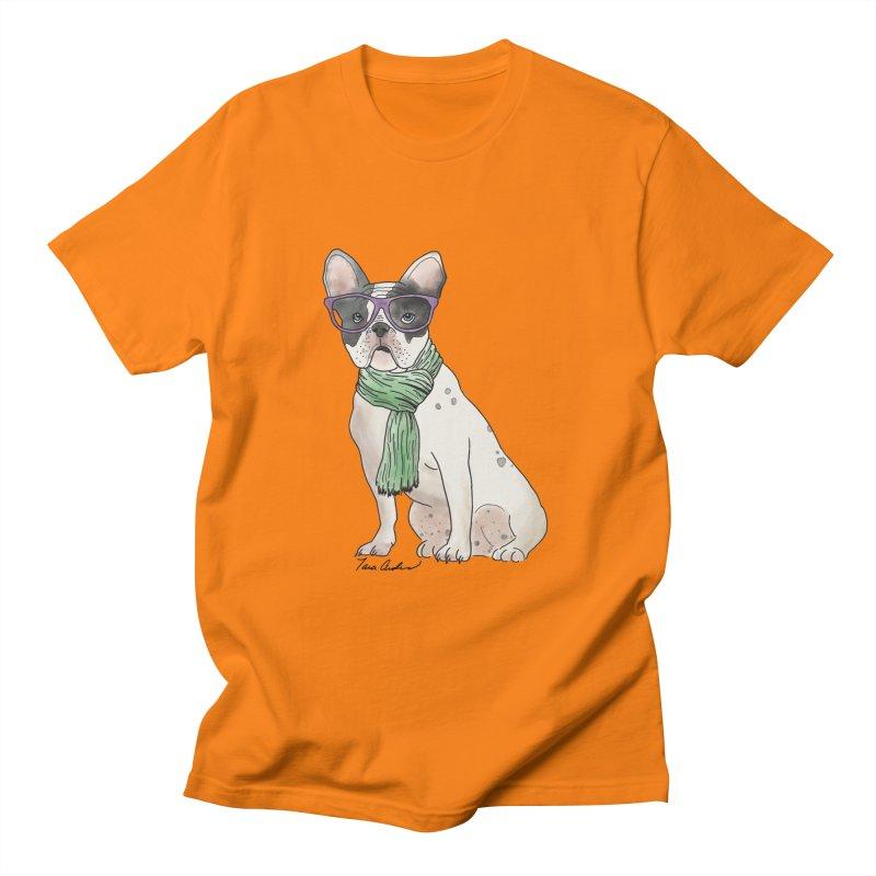 Hipster French Bulldog Women's T-Shirt by Tara Joy Andrews