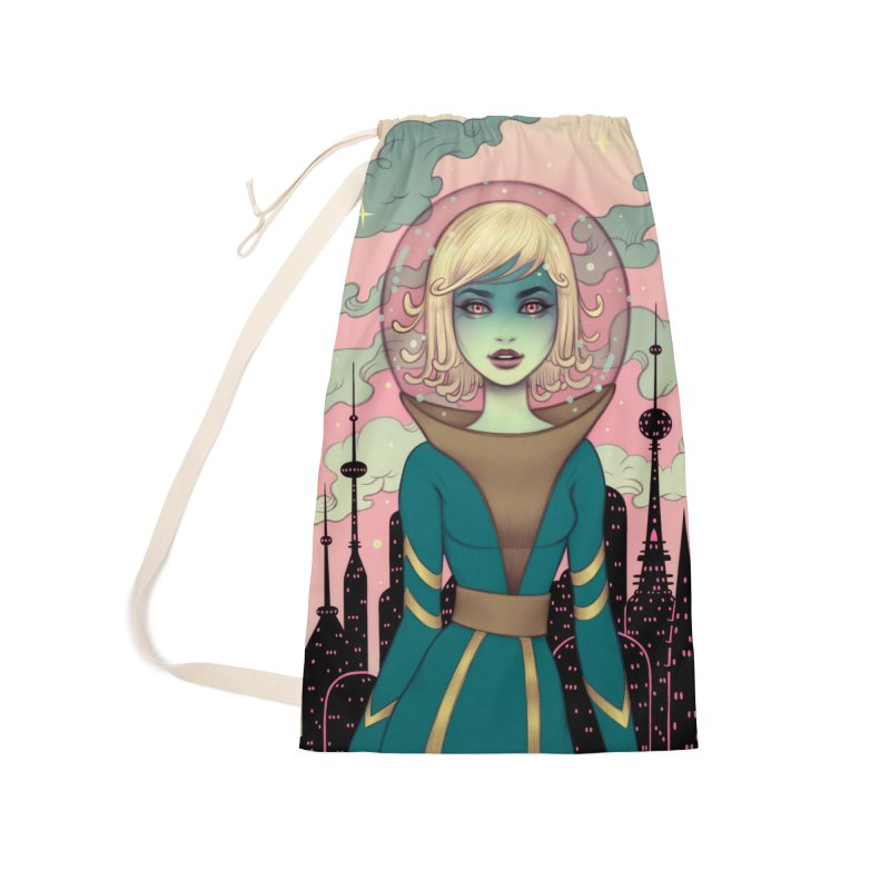 Stellar Revolution Accessories Laundry Bag Bag by Tara McPherson