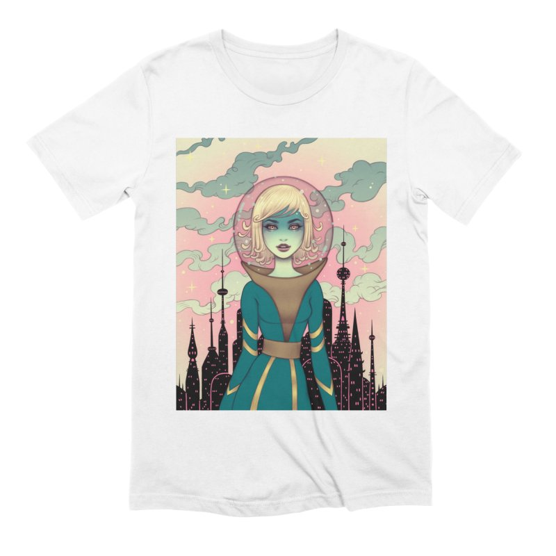 Stellar Revolution Men's Extra Soft T-Shirt by Tara McPherson