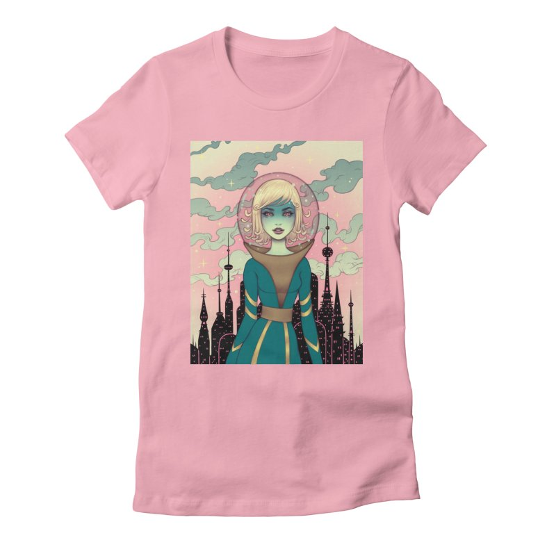 Stellar Revolution Women's Fitted T-Shirt by Tara McPherson
