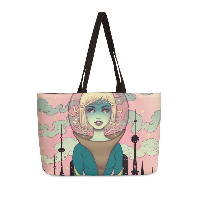 Stellar Revolution Accessories Weekender Bag Bag by Tara McPherson