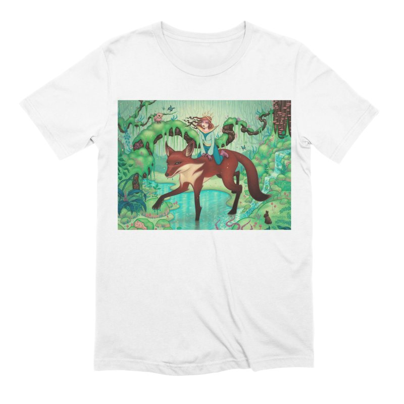 The Fox's Respite Men's Extra Soft T-Shirt by Tara McPherson