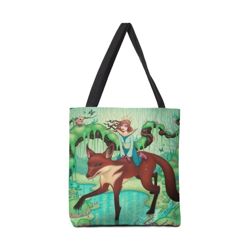 The Fox's Respite Accessories Tote Bag Bag by Tara McPherson