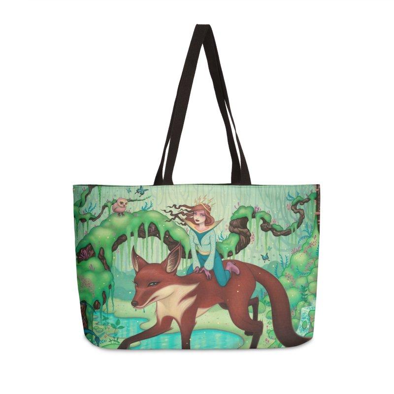The Fox's Respite Accessories Weekender Bag Bag by Tara McPherson