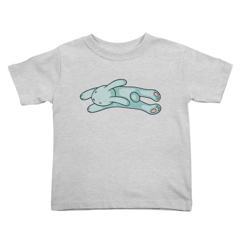 Blue Bunny Kids Toddler T-Shirt by Tara McPherson
