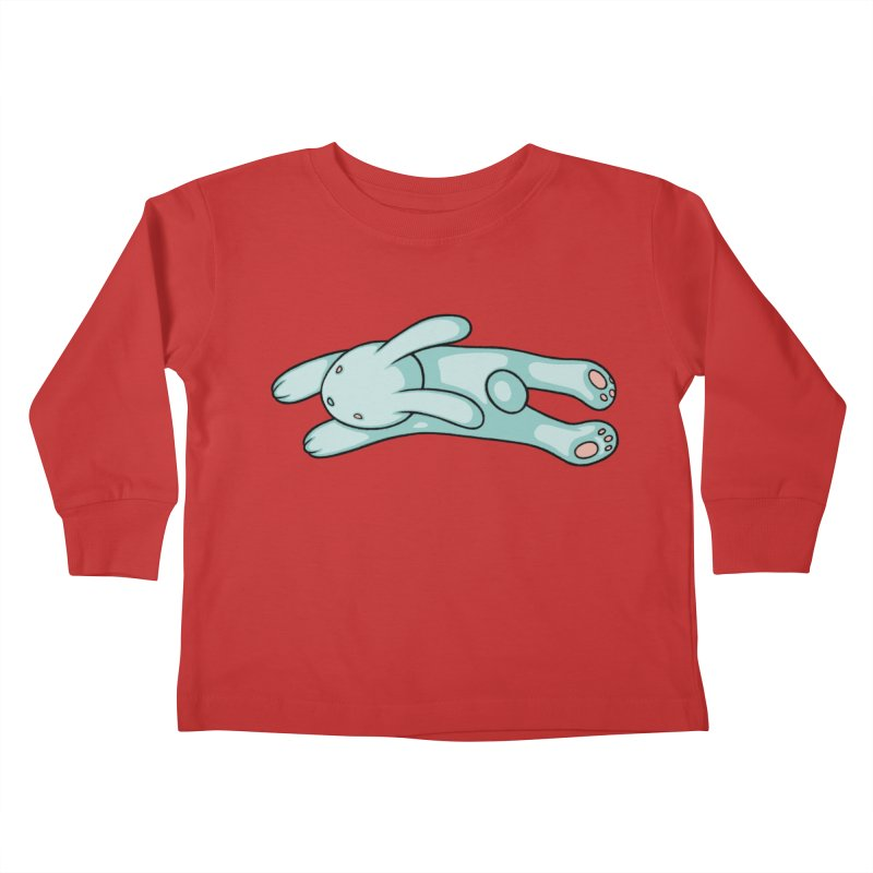Blue Bunny Kids Toddler Longsleeve T-Shirt by Tara McPherson