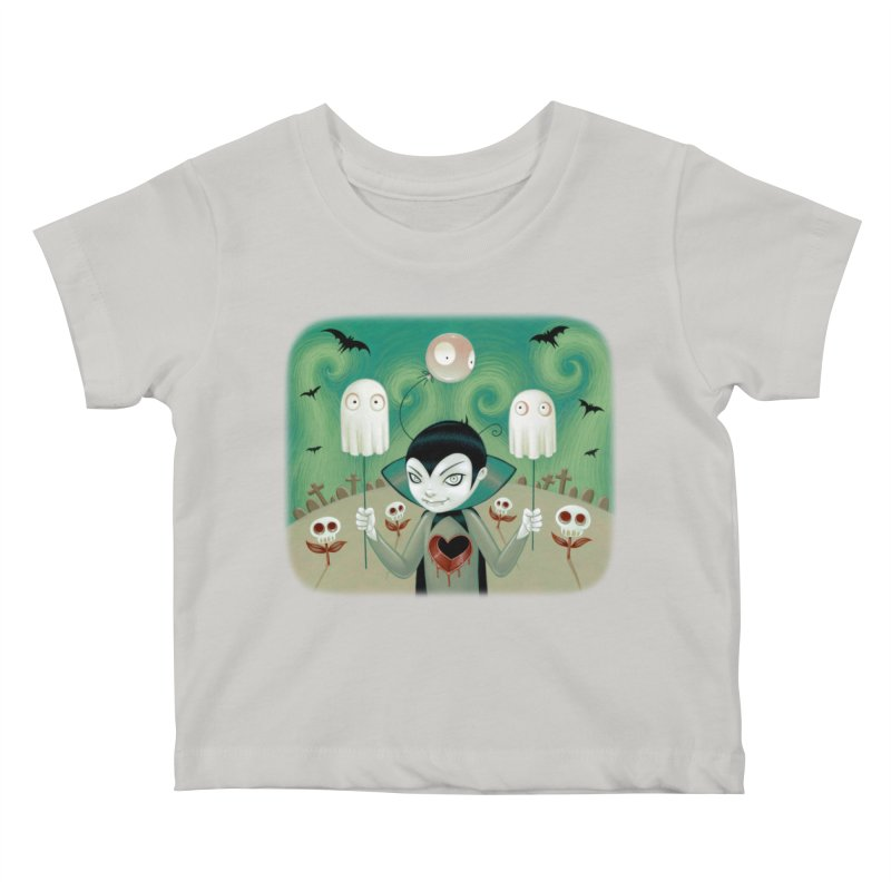 Halloween Kids Baby T-Shirt by Tara McPherson