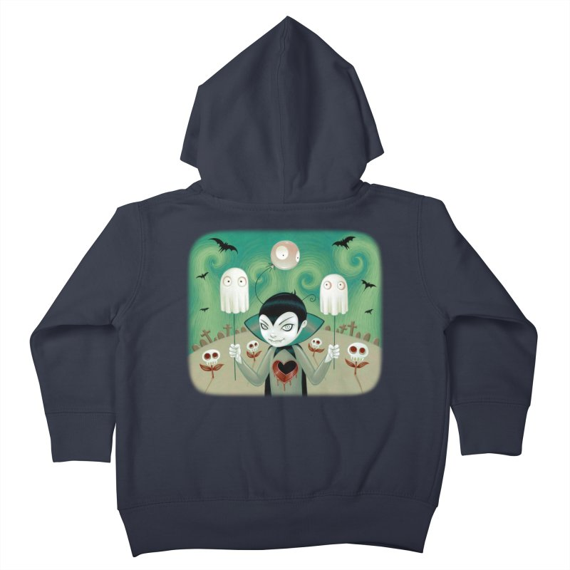 Halloween Kids Toddler Zip-Up Hoody by Tara McPherson