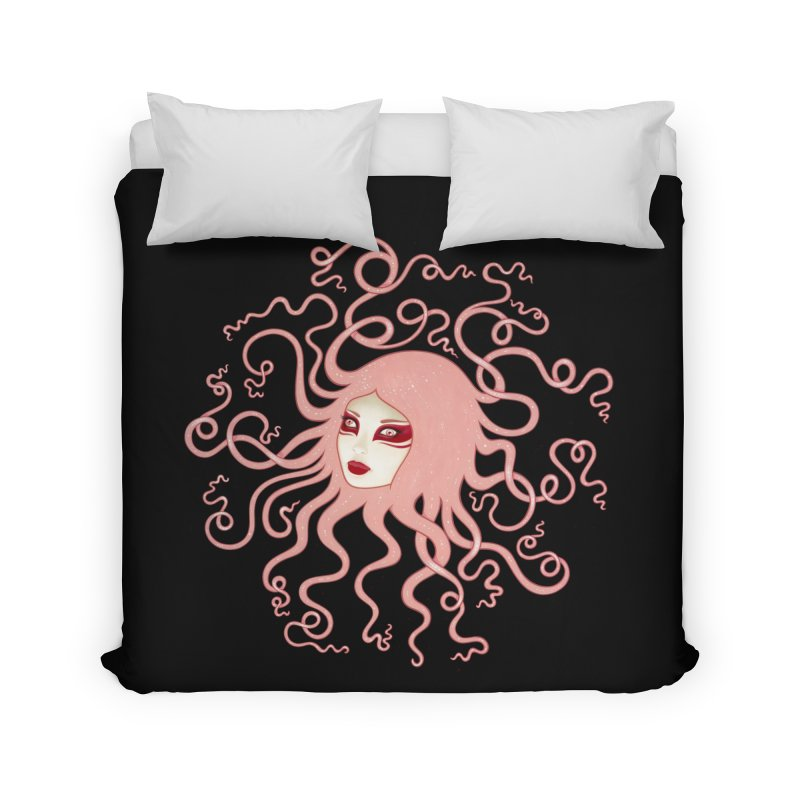 Inertia Home Duvet by Tara McPherson