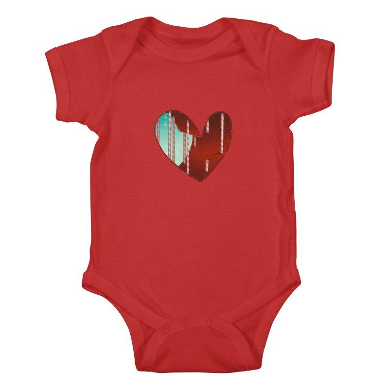 Jailbreak Kids Baby Bodysuit by Tara McPherson