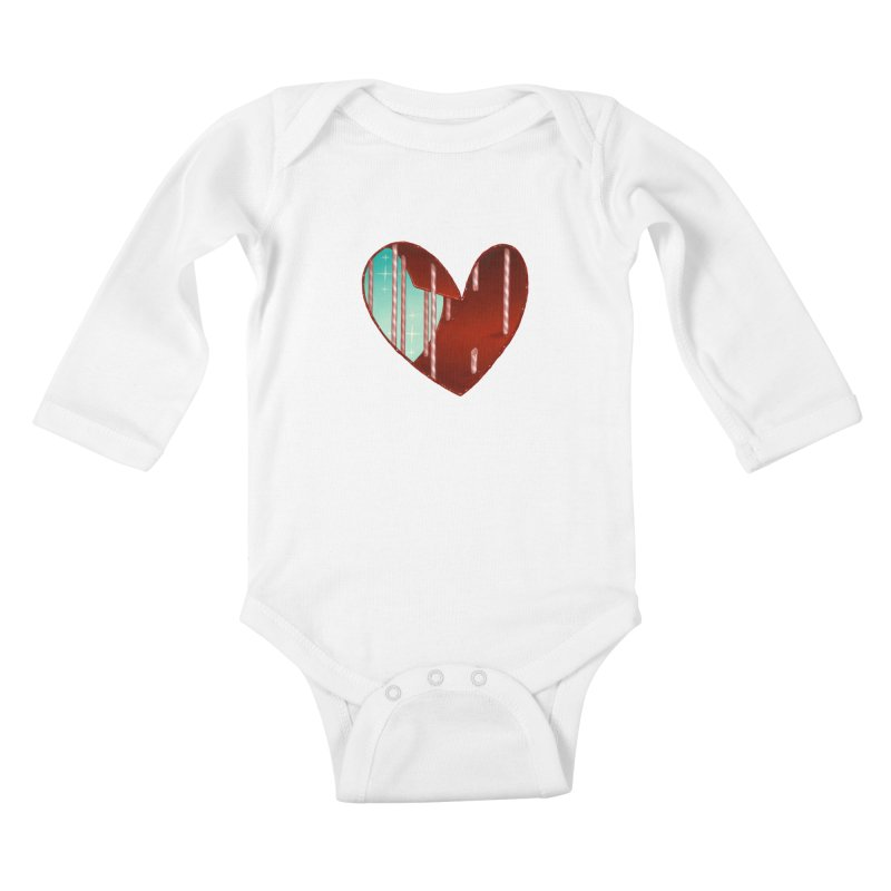 Jailbreak Kids Baby Longsleeve Bodysuit by Tara McPherson