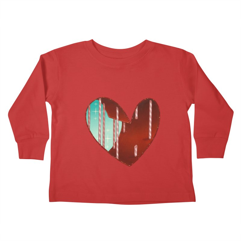 Jailbreak Kids Toddler Longsleeve T-Shirt by Tara McPherson