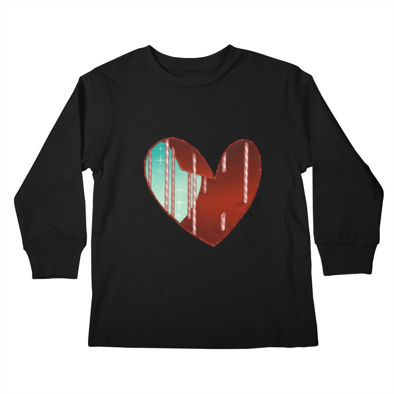 Jailbreak Kids Longsleeve T-Shirt by Tara McPherson
