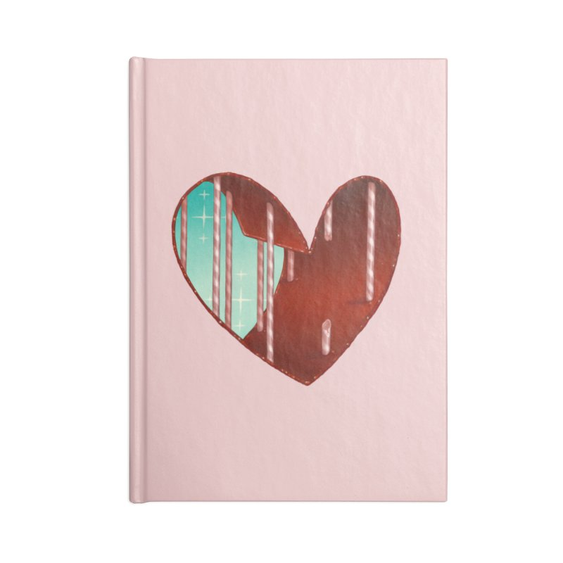 Jailbreak Accessories Lined Journal Notebook by Tara McPherson