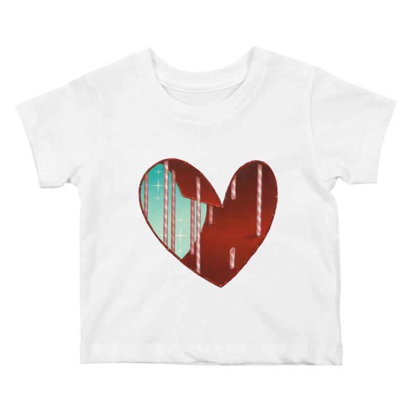 Jailbreak Kids Baby T-Shirt by Tara McPherson